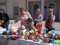 Благотворительная  ярмарка –выставка детского творчества «Пасхальная радость»